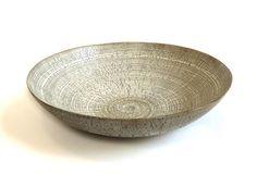 Rina Menardi ceramic big shell in birch crackle. www.providehome.com