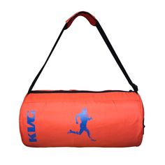 b34c36f281d1 Buy KVG orange running man gym bag at low prices in India only on  Winsant.com