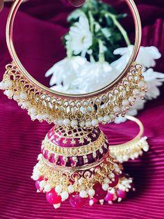 Jumka Earrings, Cuff Earrings, Gold Hoop Earrings, Diamond Earrings, Ruby Stone, Emerald Stone, Rose Gold Pendant, Pendant Set, Golden Earrings