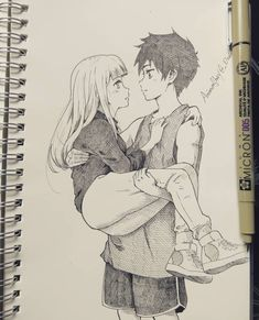 Marvelous Learn To Draw Manga Ideas. Exquisite Learn To Draw Manga Ideas. Cute Couple Drawings, Cute Couple Art, Love Drawings, Anime Drawings Sketches, Anime Sketch, Manga Drawing, Drawing Tips, Drawing Ideas, Boy And Girl Sketch