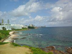 costa de Salvador..