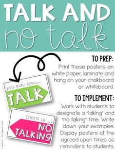Have a chatty class problem? Are your tired of trying to talk over your talkative class? Check out these five tips for dealing the with chatter. Classroom Supplies, Classroom Rules, Future Classroom, Classroom Organization, Classroom Ideas, Classroom Discipline, Classroom Expectations, Music Classroom, Teacher Blogs
