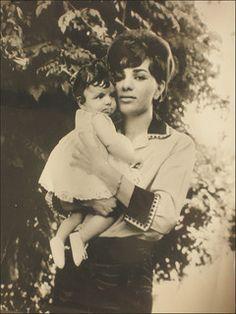 Empress Farah and Princess Farahnaz