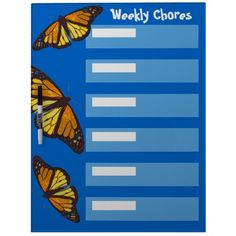 Monarch Butterflies Dry Erase Board $43.95