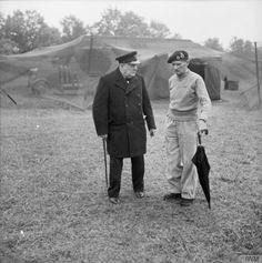Churchill and Monty