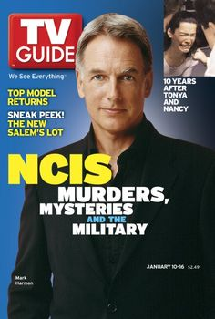 Mark Harmon, NCIS ♦ TV Guide Magazine, Jan 10-16, 2004