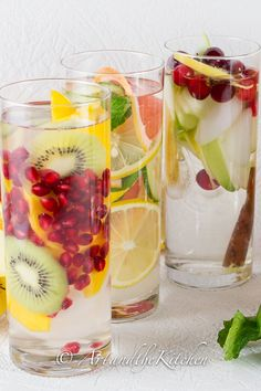 7 days of Diet Boost Flavored Water Recipes to help you shed those Holiday pounds!