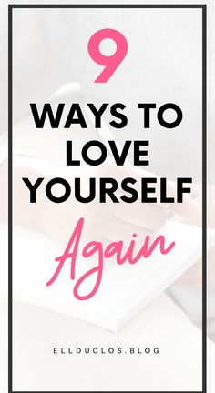 How to love yourself again, a guide sharing the best 9 ways to love yourself again through self care ideas and self love practices. Words Of Wisdom Quotes, Self Love Quotes, Love Me Again, Love You, Self Development, Personal Development, How To Better Yourself, Finding Yourself, I Am Worthless