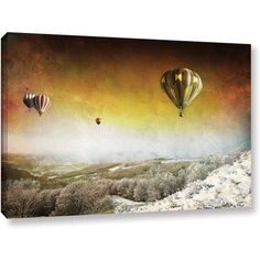 ArtWall Dragos Dumitrascu Winter Magic Gallery-wrapped Canvas Art, Size: 16 x 24, White