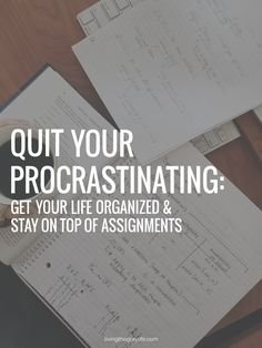 Here's How I Stopped Procrastinating