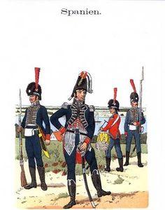 División española de la Romana en Hamburgo. Minadores y Zapadores