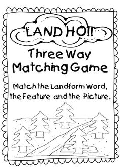 For the Love of First Grade: My Little Book of Landforms