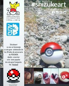 Gracias pokemon y feliz aniversario #trainon  #gottacatchemall  #pokemongo #pokemon20  #pokeball #shizukeart  #cosplay #cosplayprops  #fiberglass