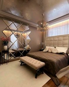 Discover master bedroom design ideas, curated by Boca do Lobo to Explore a selec., furniture ideas master Discover master bedroom design ideas, curated by Boca do Lobo to Explore a selec. Rustic Master Bedroom, Master Bedroom Design, Dream Bedroom, Home Decor Bedroom, Master Bedrooms, Mirror Bedroom, Bedroom Furniture, Bedroom Designs, Bedroom Vintage