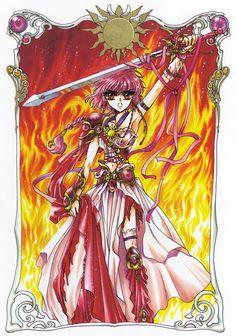 Hikaru Shidou (獅堂 光Shidō Hikaru) is a fictional character from the anime/manga series Magic. Comic Manga, Anime Comics, Manga Creator, Anime Manga, Anime Art, Arte Sailor Moon, Chibi, Magic Knight Rayearth, Xxxholic