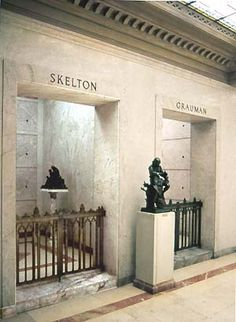 THE GRAVE OF RED SKELTON  at Forest Lawn in Glendale, California