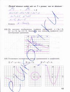 Страница 13 - Алгебра 9 класс рабочая тетрадь Минаева, Рослова. Часть 2