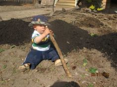 Gardening with toddlers- includes great books and songs