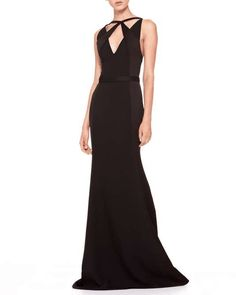Jason Wu Crisscross-Top Combo Gown on Wantering #oscarspinparty #gown