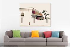Beach House Pop ArtBeach House Pop Art