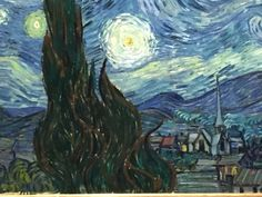 What happens when you see a masterpiece in person? For me, Vincent van Gogh's The Starry Night went from an iconic image in popular culture, to something that is real, personal, and deeply moving. It also left me with a question. Read more on my blog.