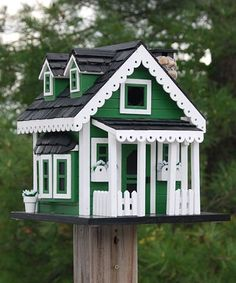 Home Bazaar Green Acres Bird House at BestNest.com