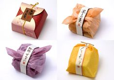 Japanese sweets package by Hatae Design