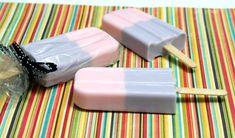 DIY Melt and Pour Soap Popsicles Tutorial