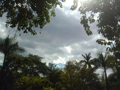 Winter sky in Xochitepec, Morelos