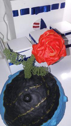 Rosa no asteróide de biscuit Encomendas: 19988389173