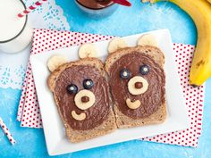 Les ours s'invitent au goûter Oreo, Cute Food, Gingerbread Cookies, Desserts, Sandwiches, Free Coloring, Little Children, Special Birthday, Eten