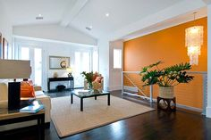 accent wall designs living room - Google Search