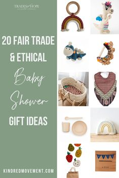 Check out my top 20 Fair Trade Ethical Baby Shower Gift Ideas. Every purchase empowers women out of poverty! Read the blog post to see my top picks and click through to shop my Baby Shower Gift Ideas! #fairtrade #ethical #babygift #babyshowergifts #ecofriendly #empoweringwomen #endpoverty #tradesofhope