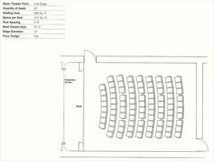 Gallery of How to Design Theater Seating, Shown Through 21 Detailed Example Layouts - 4