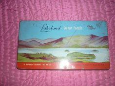 Vintage TIN Lakeland Colour Pencil | eBay