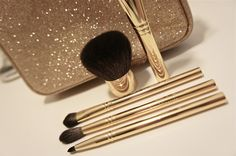 gold, make up, and makeup image