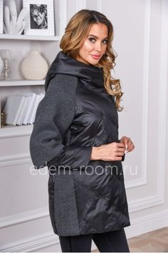 How to Know the Right Plus Size Winter Coats? Warm Outfits, Pretty Outfits, Stylish Outfits, Elisa Cavaletti, Plus Size Coats, Winter Jackets Women, Plus Size Winter, Timeless Fashion, Plus Size Fashion