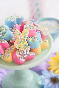Easter Bunny Fudge | Sprinkles For Breakfast