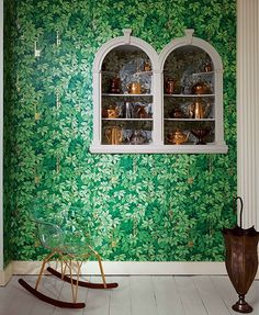 Wallpaper Trends: Fashion for the Wall! – Cole & Son Wallpaper Fornasetti II Collection, Natural Dessins with Leaves and Mysterious Keys!