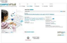 Curso Gestión Información en la Web 20 - CITA - FGSR y USAL
