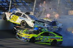 Carnage during Daytona 500 practice - Kligerman flips Daytona 500, Nascar Racing, Race Day, Motocross, Seahawks, Fencing, Addiction, Rest, Cars