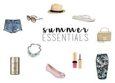 Summer Essentials 2016 by netstylistka on Polyvore featuring moda, New Look, Melissa, IPANEMA, Furla, Karl Lagerfeld, H&M, Yves Saint Laurent and Skin79