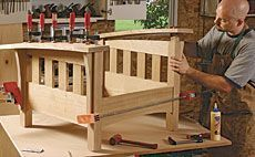 Preview - Build a Bow-Arm Morris Chair - Fine Woodworking Article