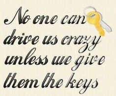 unless we give them the keys