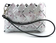 Coin Purse - Diet Cherry Coke recycled wrappers