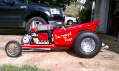 Homemade Hot Rod Body | Cycle Karting | Forums | Contact 4Cycle | Premium Membership