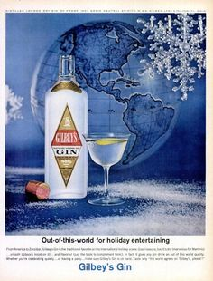 Gilbey's -- the first gin I ever tasted because it was my dad's brand of choice. Love the frosty bottle!