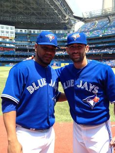 The double bombers Jay Name, Blue Jay Way, American League, Toronto Blue Jays, Athlete, Baseball, Bats, Pitch, Muscles