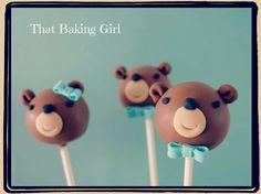 Bear cakepops