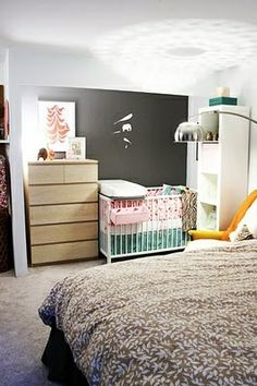 Combo master bedroom/nursery #Christmas #thanksgiving #Holiday #quote
